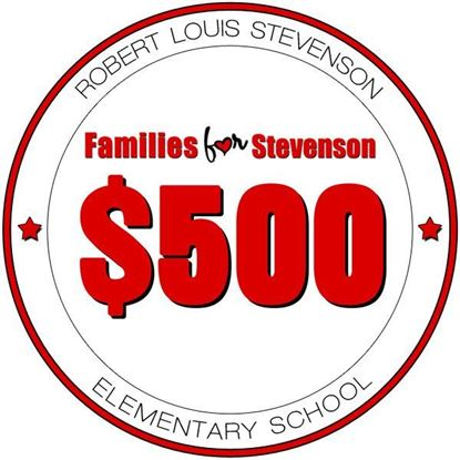Picture of 500 FFS Family Giving Campaign Donor Level - Stevenson Elementary