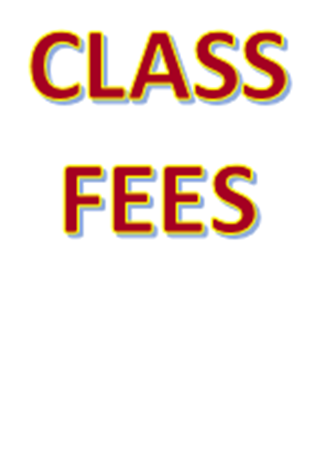Picture for category Class Fees