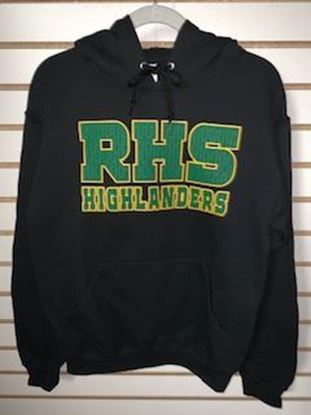 Picture of Black RHS Hoodie