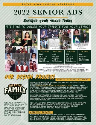 Picture of SENIOR AD - 1_2 PAGE